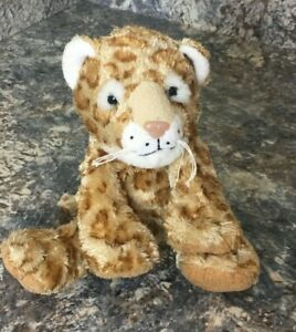 Vintage Fiesta Sitting Leopard Plush Stuffed Animal 2006 *Adorable*