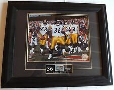 JEROME BETTIS NFL Pittsburg Steelers  # 36 Picture W/ U.S. post stamp 37 cents