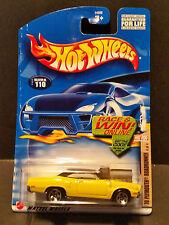'02 Hot Wheels#110 HotRod Magazine Series 4/4:'70PlymouthRoadrunner Card B 54368