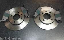 VW POLO 1.0 1.4 1.7D 1.9D QUALITY FRONT BRAKE DISCS AND PADS - CHECK SIZES