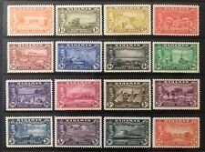 BAHAMAS 1948 Complete Set of 16 Stamps MVLH OG SG #178-193