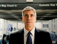 George Clooney Hand Signed Autographed 11x14 Photo Up in The Air JSA T60161