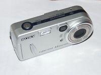 Sony Cyber-shot DSC-P72 3.2 m - Digital Kamera - Silberne