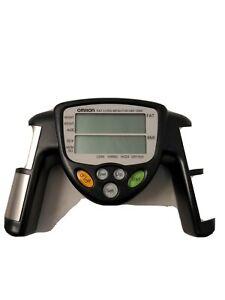 Omron HBF-306C Fat Loss Analyzer Monitor Body Logic Bodyfat Fitness USED WORKS