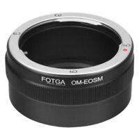 Olympus OM Lens to Canon EFM EOS M100 M10 M6 M5 M3 M2 M EOSM Camera Adapter Ring