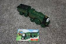 Thomas the Train & Friends Wooden Railway Emily Tender card set 2003 Green Toy