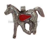 Coral pendant Horse Pendant Animal Pendant Tibetan Pendant Nepalese Pendant