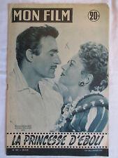 MON FILM 501   (1956) LA PRINCESSE D'EBOLI OLIVIA DE HAVILLAND GILBERT ROLAND
