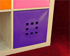 4er Set Tür Einsatz Ikea Regal Expedit Kallax Karamellbraun Flexi*lila