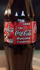 NASCAR COCA-COLA RACING FAMILY 1999 BOTTLE COLLECTIBLE 8OZ.