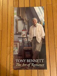 Tony Bennett The Art Of Romance Album Music Store Promo Poster