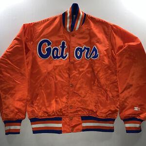 Vintage Men's Starter Florida Gators Satin Jacket Made In USA Medium NEW Rare