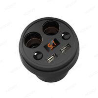 Mini Rapid Charging Cigarette Lighter Socket Splitter Car Charger Power Adapter