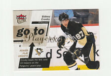 2009-10 Fleer Ultra Go To Players # GT4 Sidney Crosby