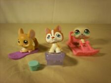 Littlest Pet Shop 340 341 and seal Snow Fall Fun With Some Acessories
