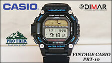 VINTAGE CASIO PRT-10 PRO TREK THERMOMETER AUTO LIGHT QW.1461 JAPAN, AÑO 1996