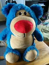 Large Blue Cubbyford Teddy Bear Cubbies. Height 18 ins. New.