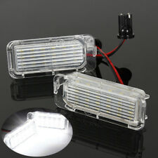 Pair LED Rear Number License Plate Light Lamp For Ford Fiesta Focus Kuga Mondeo