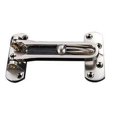 Stainless Steel Door Restrictor Heavy Duty Security Chain Limiter Lock Insurance