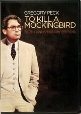 To Kill A Mockingbird 50th Anniversary Gregory Peck Classic 2 Dvds Very Good