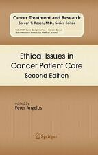 Ethical Issues in Cancer Patient Care (Cancer Treatment and Research)