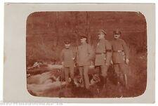 Foto Ak Vogesen - Soldaten der Feldpoststation (8) - um 1915