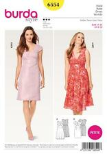 BURDA SEWING PATTERN MISSES' DRESS WITH INTERESTING SEAM LINES SIZE  8-18 6554