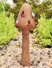 Miniature Dove Cote ~ Toadstool Bird House ~ Fairy Garden Miniature by Jennifer