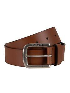 Levi's Men's Seine Leather Belt, Brown