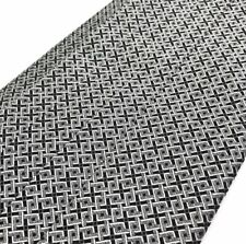 Robert Talbott Protocol Black White Geometric Pleated Cummerbund Adjustable NEW