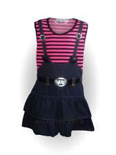 Vêtements noir en dentelle pour fille de 2 à 16 ans
