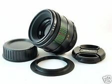 INFINITY IS! HELIOS 44-2 2/58 mm USSR LENS for NIKON F MOUNT SUPER BOKEH EXCELL+