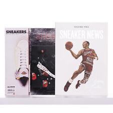Set 3x SNEAKERS MAGAZINE Nr 35 + Nr 87 + SNEAKER NEWS Volume Two 2 Book Sneaker