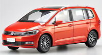 1/18 Scale Volkswagen Touran L 2016 Red DieCast Car Model Toy Collection