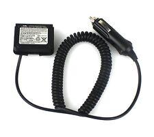 12V Car Battery Charger Eliminator Adaptor+Waterproof Ring for YAESU VX-6R VX-7R
