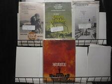 Movie Pressbook lot of 4 from 60s +70s Movie Memorabilia F-VF