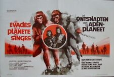 PLANET OF THE APES ESCAPE FROM Belgian movie poster 1971 RAY Art NM