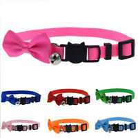 Cat Accessories Bowknot Puppy Cat Collars Dog Collar Necklace Bell Pendant