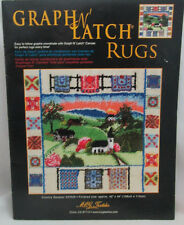 Mcg Textiles Graph N' Latch Rug Pattern Country Sampler #37509