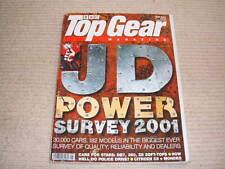 TOP GEAR MAGAZINE MAY-2001 - BMW Z8, Ferrari 360 Spider, Trident Iceni, Mondeo