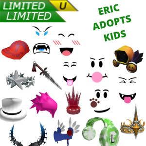 ROBLOX Limiteds: Cheap and Safe Limited Collectibles 1hr-3day | READ DESCRIPTION