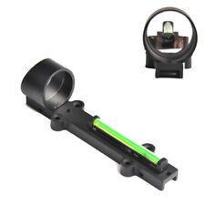 1X28 Green Dot Green Fiber Sight Reflex Scope Sight Fit Shotgun Rib Rail Hunting