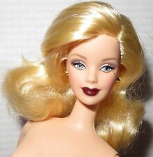 (B) NUDE BARBIE (B)~ BLONDE GRAY EYES HOLLYWOOD CAST PARTY MACKIE DOLL FOR OOAK