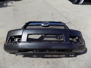 2010 2011 2012 2013 TOYOTA 4RUNNER FRONT BUMPER COVER W/GRILL OEM USED