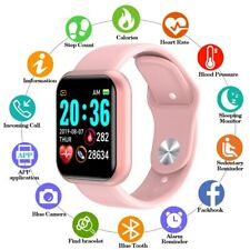 Waterproof Bluetooth Smart Watch Phone Mate Fitness Tracker for IOS Android