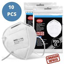 Masque De Protection 10 Pcs - Livraison Express