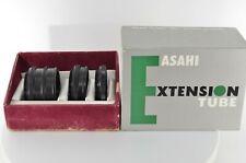 ASAHI PENTAX EXTENSION TUBE 3 THREE RING SET M42 MOUNT [Near Mint] from JAPAN