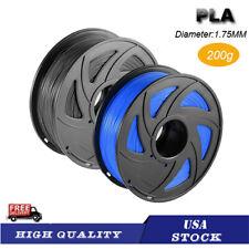 USA STOCK ~ PLA+ 3D Printer Filament 1.75mm 200g Printing Spool Supplies