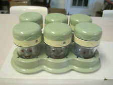 Baby Bullet replacement food jars with tray, 6 jars, NIB