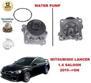 FOR MITSUBISHI LANCER 1.6 117BHP 2010 >ON WATER PUMP